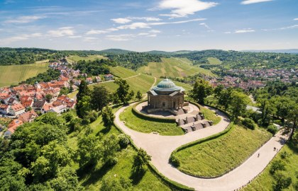 Royal Burial Chapel on the Württemberg, © Stuttgart-Marketing GmbH / Jürgen Pollak