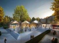 The new Filderhalle, © HPP