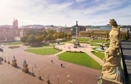 Palace Square, © Stuttgart-Marketing GmbH