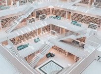 Stadtbibliothek Stuttgart, © SMG / Romeo Felsenreich