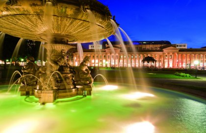 Schlossplatz, © Stuttgart-Marketing GmbH / Werner Dieterich