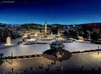 Glanzlichter Schlossplatz, © MK Illumination