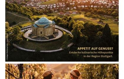 Das ist Stuttgart! (PDF), © Oben: Stuttgart-Marketing GmbH, Cornelius Bierer; unten: Stuttgart-Marketing GmbH, sonne-wolken.de / globusliebe.com