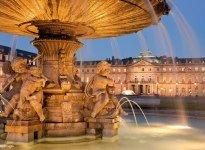 Schlossplatz Brunnen, © GettyImages