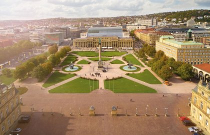 Schlossplatz Stuttgart, © Stuttgart-Marketing GmbH