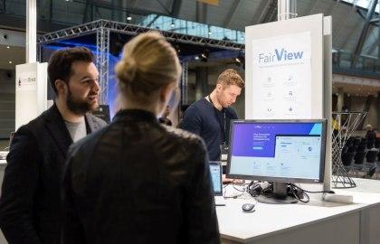 Die Messe Stuttgart zeigte mit Fair-View den Prototyp einer innovativen Softwarelösung zur einfacheren und übersichtlicheren Messeplanung für ausstellende Unternehmen., © Messe Stuttgart