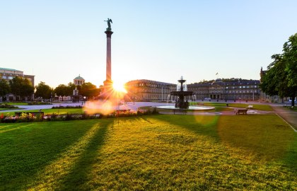 Stuttgart Palace Square, © Stuttgart-Marketing GmbH / Werner Dieterich