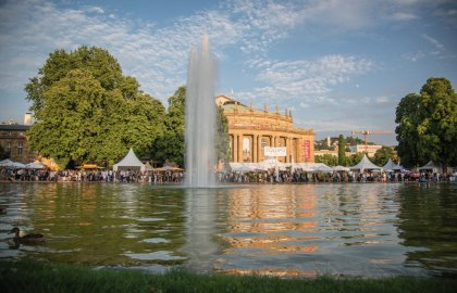 Stuttgarter Sommerfest, © Stuttgart-Marketing GmbH / trickytine