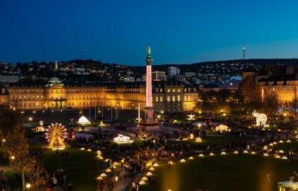 Stuttgart Highlights (Palace Square), © Stuttgart-Marketing GmbH / Sevencity GmbH