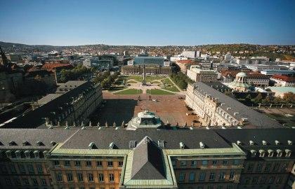 Schlossplatz Stuttgart, © Stuttgart-Marketing GmbH / Achim Mende