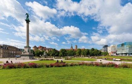 Stuttgart palace square, © Stuttgart-Marketing GmbH
