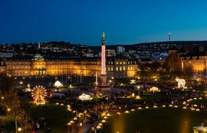 Glanzlichter Stuttgart (Schlossplatz), © Stuttgart-Marketing GmbH / Sevencity GmbH