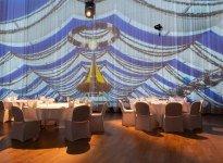 360 Grad Projektion im Großen Saal, © FILDERHALLE Leinfelden-Echterdingen