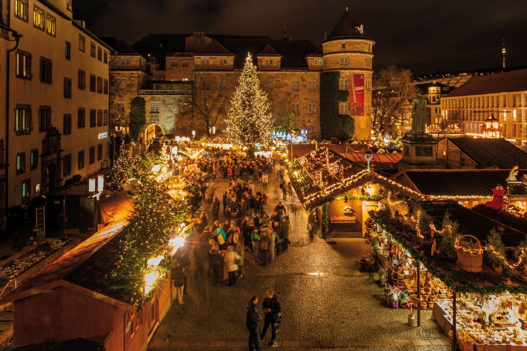 Eröffnung Weihnachtsmarkt Stuttgart 2019.Die Weihnachtsmärkte In Der Region Stuttgart Feste Themen