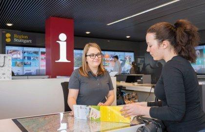 Tourist-Information, © Stuttgart-Marketing GmbH_Peter Hartung