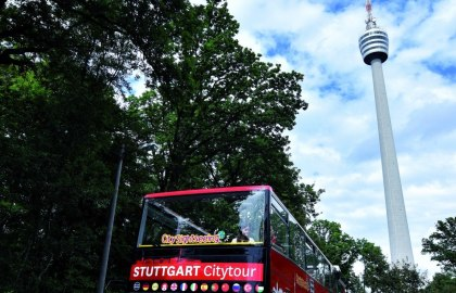 Green Citytour at TV tower, © Stuttgart-Marketing GmbH / Pierre Polak