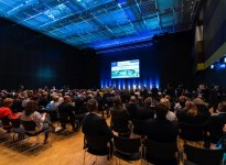 The presentations at the 30th Congress of the German Continence Society were well-attended., © Nicolas Döring