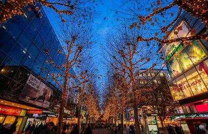 Glanzlichter Stuttgart Königstraße, © Stuttgart-Marketing GmbH