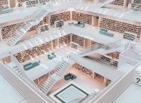 Stadtbibliothek Stuttgart, © Stuttgart-Marketing GmbH / Romeo Felsenreich