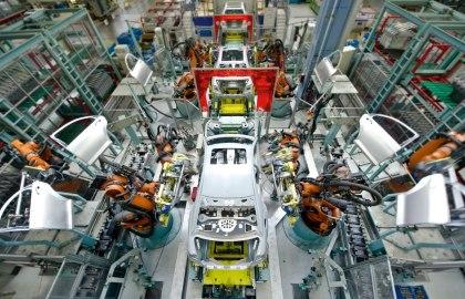 Rohbau Werk Sindelfingen, © Daimler AG