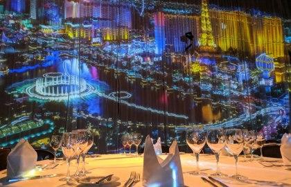Themen-Events in der FILDERHALLE: 360 Grad Projektion im Großen Saal, © FILDERHALLE Leinfelden-Echterdingen