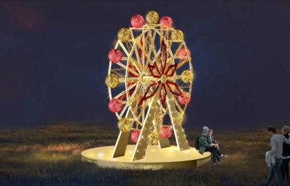 Glanzlichter Riesenrad, © MK Illumination