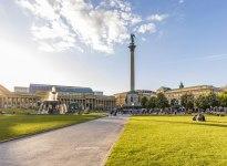 Schlossplatz Stuttgart, © Stuttgart-Marketing GmbH / Werner Dieterich